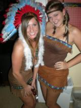 … I made a native american costume