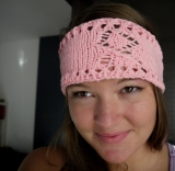 Attempt at Breast Cancer Awareness Headband