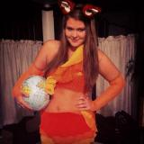 My Firefox Halloween Costume!